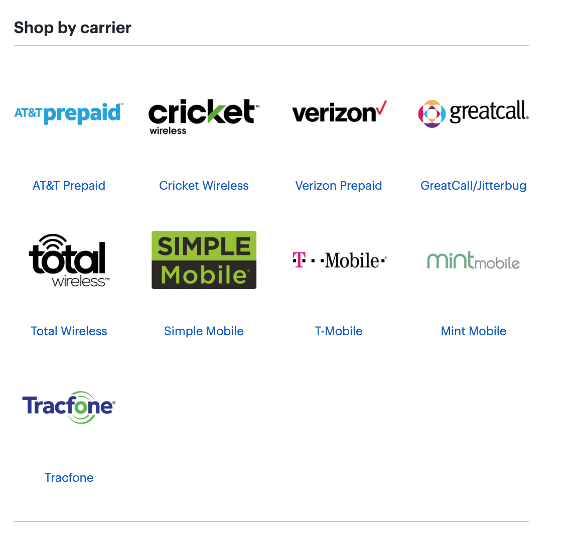 Trickut - The 9 Best Stores That Sell Prepaid Wireless Plans - - Shop By Carrier