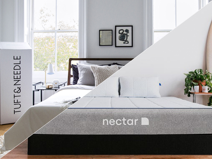 Trickut - Tuft and Needle vs. Casper Mattress- Reviews - Deals TN_vs_Nectar