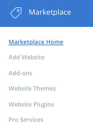 bluehost cpanel marketplace