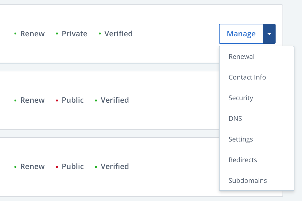 bluehost cpanel manage
