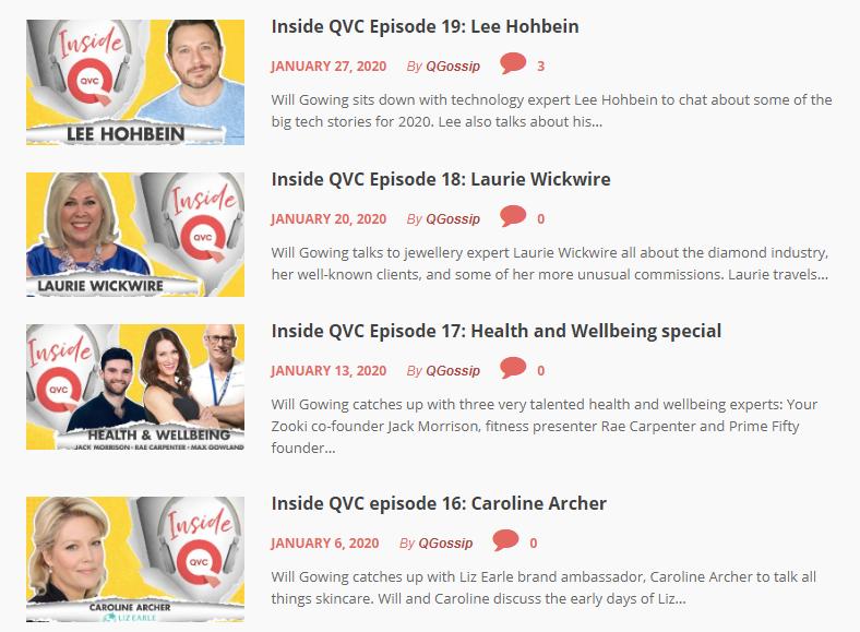 qvc episodes