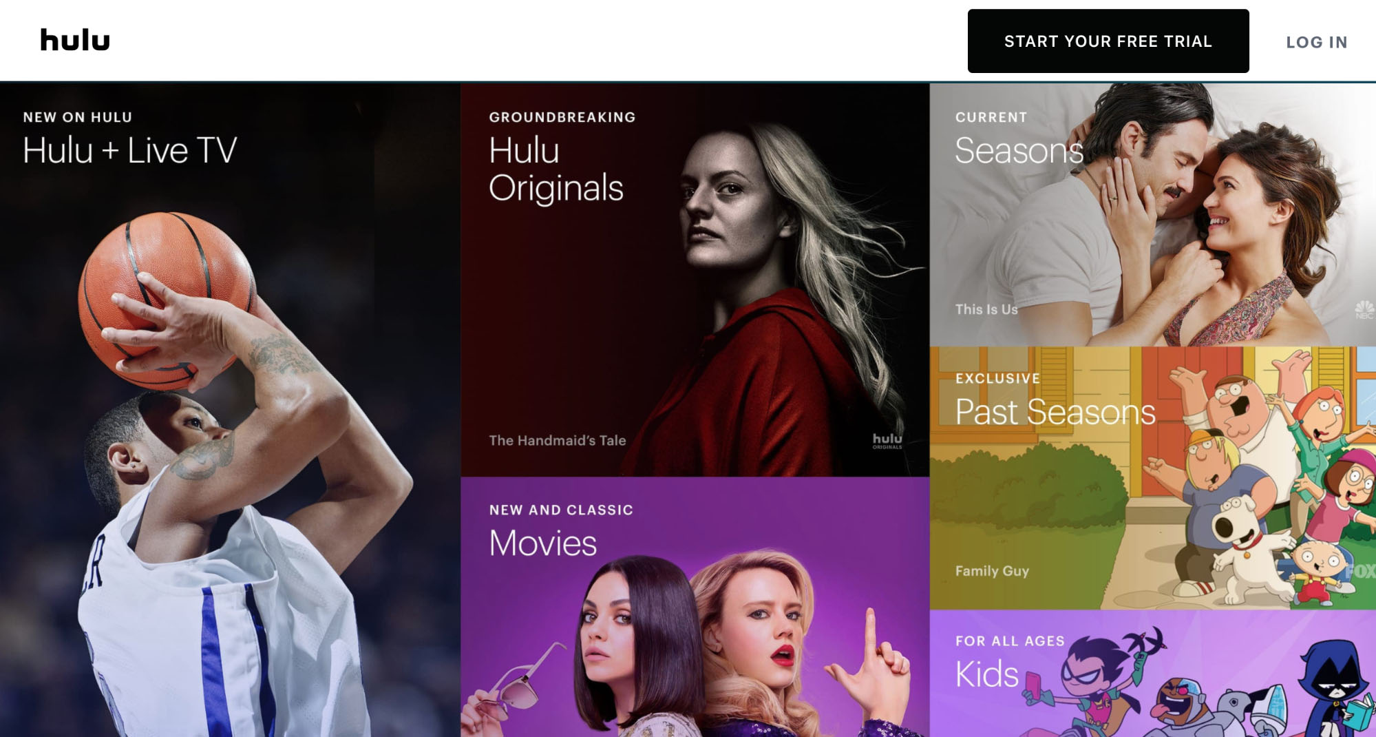 Hulu + Live TV - The Best Line-up of 123movies Alternative Websites