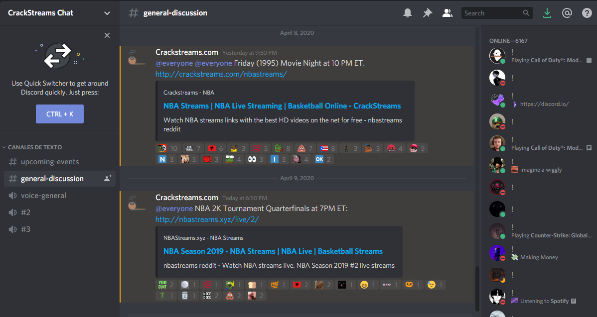CrackStreams Review: A Free Sports Streaming Service | Trickut