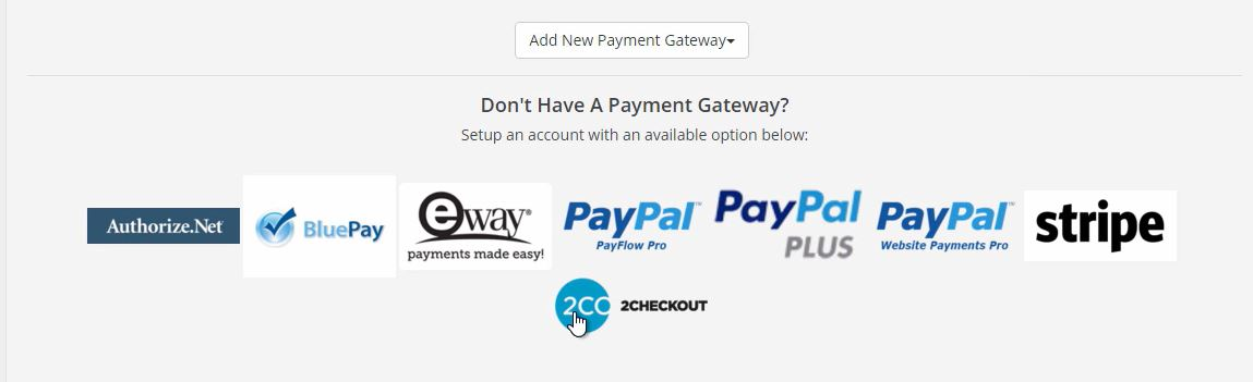 Brilliant Directories review payment gateway