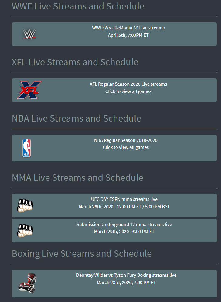 CrackStreams Review: A Free Sports Streaming Service