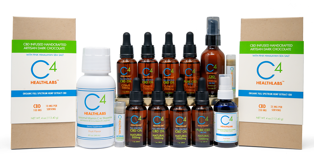C4healthlabs products - best cbd oil for pain